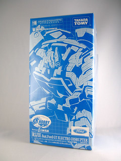 TakaraTomy Binaltech Rijie (E-Hobby Electro-Disruptor Mode Exclusive) | by naladahc