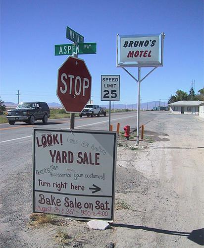 Yard Sale At  Rhode Island