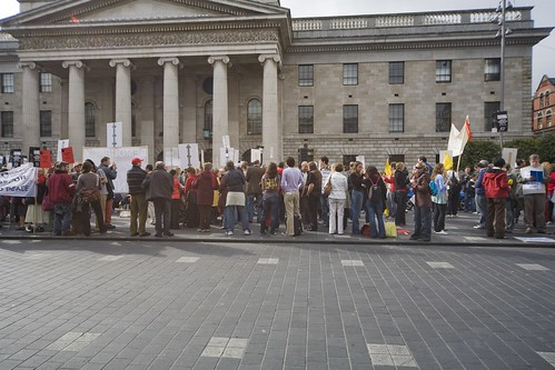 Burma Protest Rally - O'Connell Street in Dublin | by infomatique