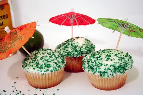 Margarita Cupcakes With Cake Mix