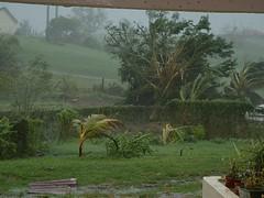 Pendant l\'ouragan, pris de la terrasse abritée | gruikya ...