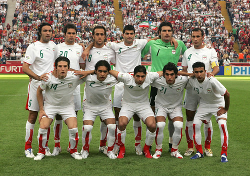Portugal By Hantuarsenal_ Wc Iran Team Picture Before Vs Portugal By Hantuarsenal_