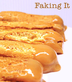 Dulce de Leche Eclairs (with title) | by jumanggy