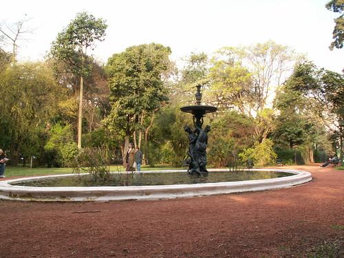 Fuente central del jadin botanico parque jardin botanico for Amapola jardin de infantes palermo