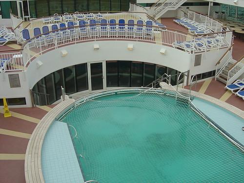 P O Aurora Cruise Ship Swimming Pool Gary Bembridge Flickr