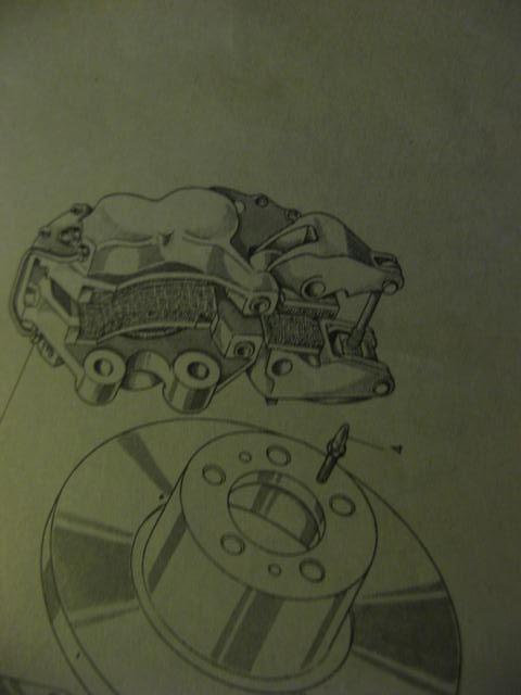 Fiat Osca E Brake Caliper Diagram Exploded View Diagra Flickr