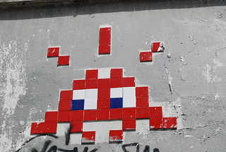Paris, Space invader | by Zerbi Hancok