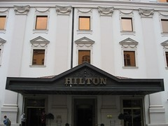 Hilton Hotel in Budapest | by mikeleeorg