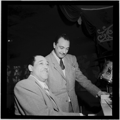 [Portrait of Django Reinhardt and Duke Ellington, Aquarium, New York, N.Y., ca. Nov. 1946] (LOC) | by The Library of Congress