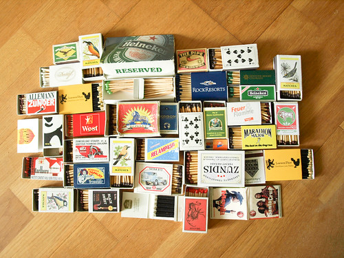 My little collection of safety matches | by Jiri Volejnik