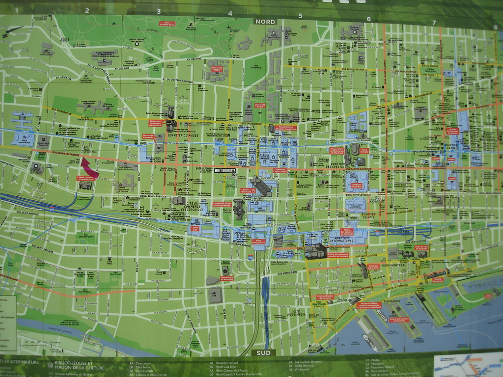 Montreal Tourist Map Dave Griffiths – Montreal Tourist Map