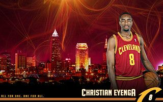 2010-2011 Wallpaper Eyenga | by Cavs History