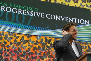 Ross Mirkarimi at the Progressive Convention | by Steve Rhodes
