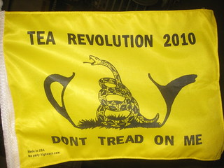 Tea Party flag | by futureatlas.com