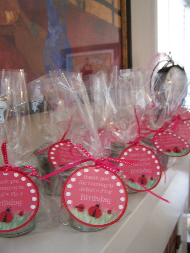 Ladybug Party Favors | Decorations can be purchased through … | Flickr