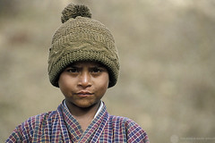 Portrait of a boy. Bhutan | by World Bank Photo Collection