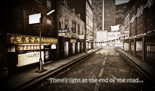There's light at the end of the road... | by Tamara Lowenhart
