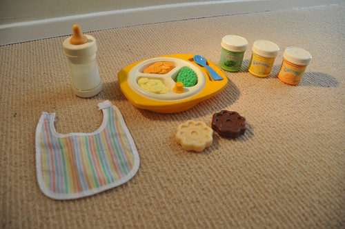 Fisher price fun with food baby 39 s mealtime playset 1987 - Cuisine fisher price bilingue ...