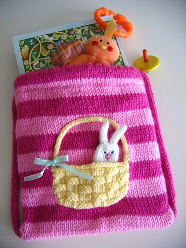 Bunny Buddy Bag - Stuffed! | by Anny Purls