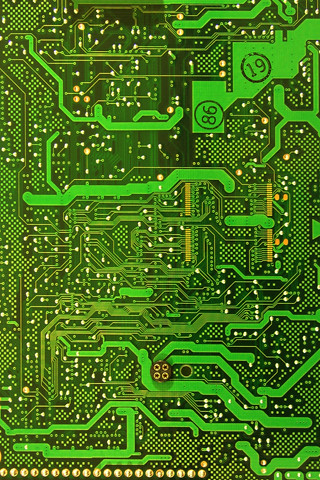 green circuitboard | by willc2