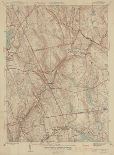 Moodus Quadrangle 1946 - USGS Topographic Map 1:31,680 | by uconnlibrariesmagic