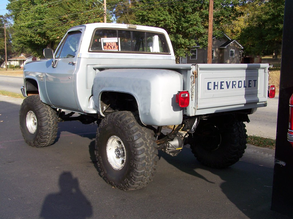 Pairs Of 4x4 Lifted Chevy Pick Up On Hwy 278 In Cedartown Flickr 1968 Pickup Truck For Sale By Classicfordz