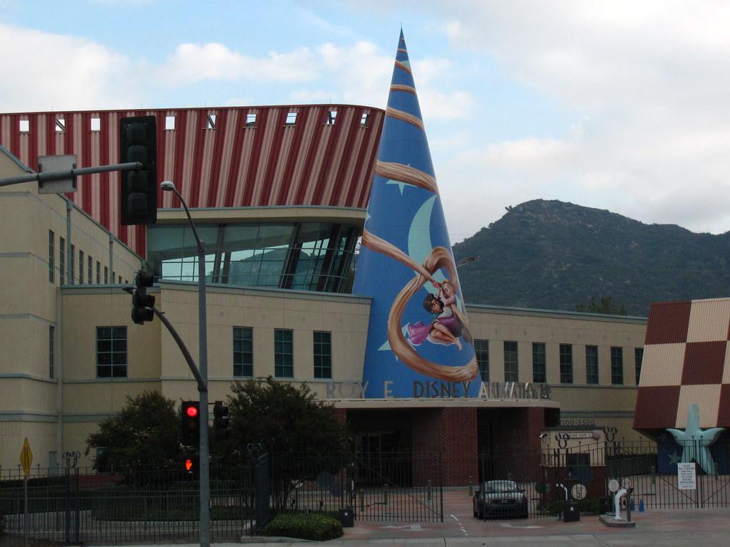 Roy E Disney Animation Building At Walt Disney Studios Flickr