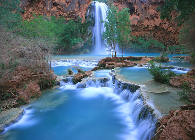 Evening at Havasu Falls