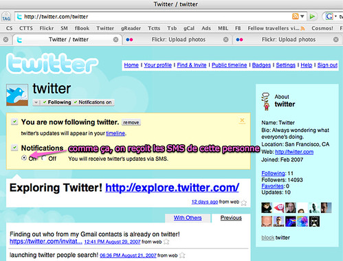 Twitter, SMS on | Uploaded with plasq's Skitch blogged: clim… | Flickr