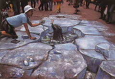Julian Beever: Arctic street conditions | by Zahorí