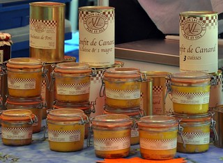 Duck Confit and Foie Gras from the Market in Perigueux | by Food Lovers Odyssey