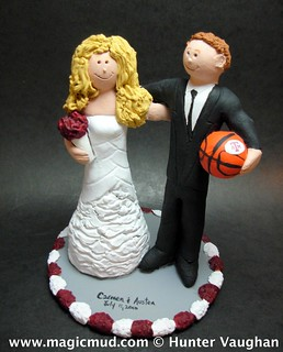 basketball couple wedding cake topper a amp m aggies wedding cake topper a amp m aggies 11101