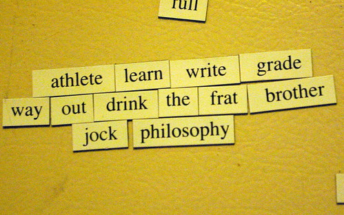 Magnetic Fridge Haiku | by Pretty Sparkly Things