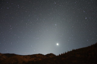 Zodiacal light, featuring Venus | by jpstanley