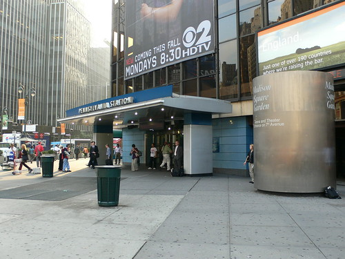 Eighth Avenue Entrance To Penn Station Madison Square