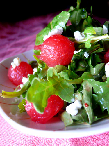 arugula watermelon salad | by chotda