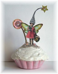 FaiRy fake cupcake faux oRiGiNaL aLTeReD aRt CoLLaGe | by sPaRK*YouR*iMaGiNaTioN