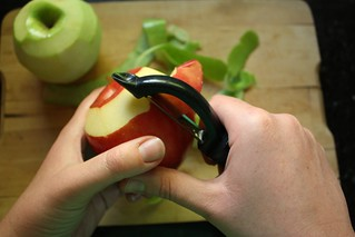 Peeling apples | by Completely Delicious
