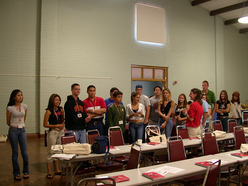 Students Hanging Out During Orientation | by California State University Channel Islands