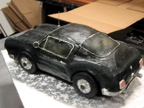 Mustang Fastback Cake Mostly Buttercream Groom S Cake
