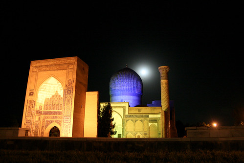 Moon over Amir Timur | by Giorgio Montersino