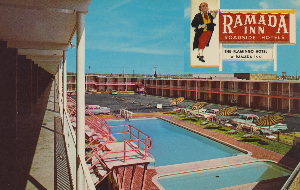 Flamingo Hotel - San Antonio, Texas