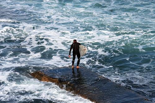 Surfing @ Bar Beach, Newcastle - 8th July, 2007 | Rock off ...