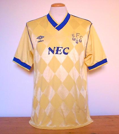 Movi Star Shop Everton 1986 Away Large