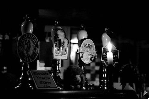 the unused taps at the Red Lion | by beermerchants