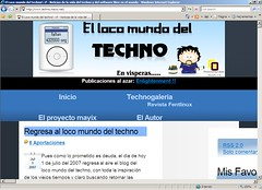 el loco mundo de <s>mr gates<s> el techno desde IE7 | by Javier Aroche