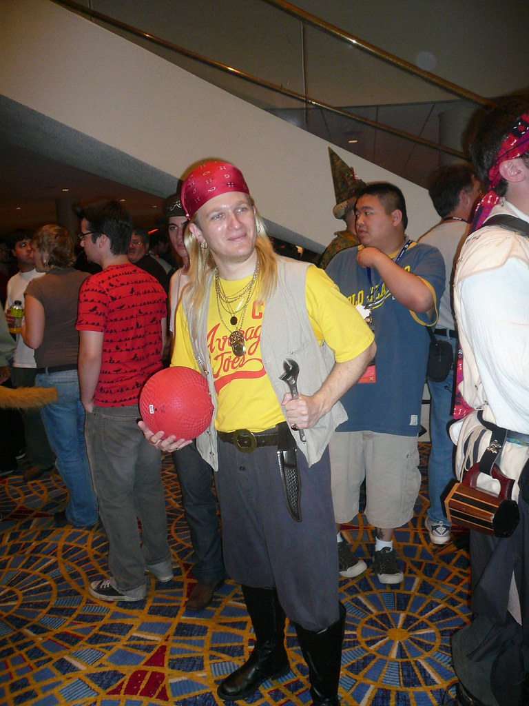 steve the pirate from dodgeball sirroguesirrogue flickr
