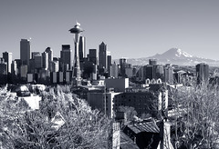 Seattle Skyline Kerry Park | by Surrealize