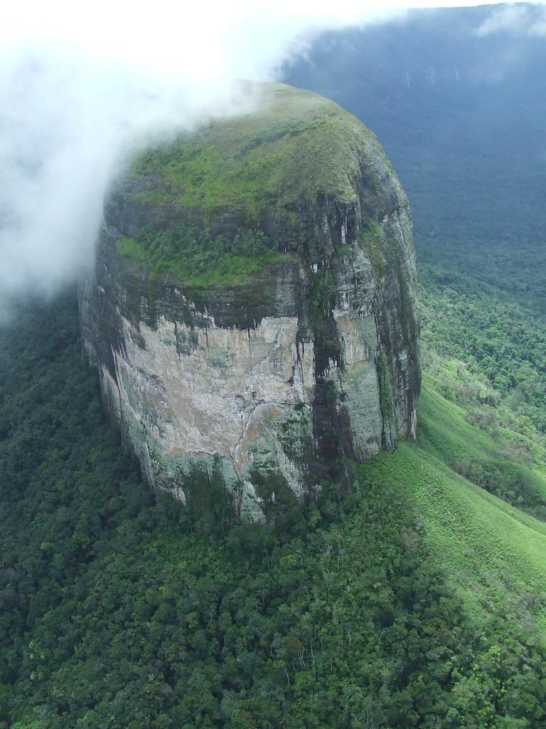 Tepui, vista aerea - Venezuela