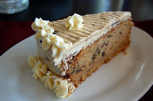 White Chocolate Prune Cake